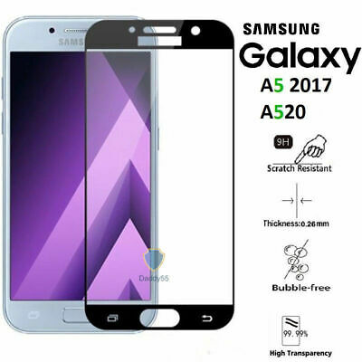 For Samsung Galaxy A5 2017 - Genuine tempered glass screen protector