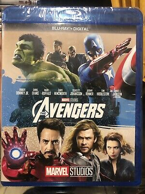 "2012 Marvel's ""The Avengers"" Blu-ray, No Digital Code"