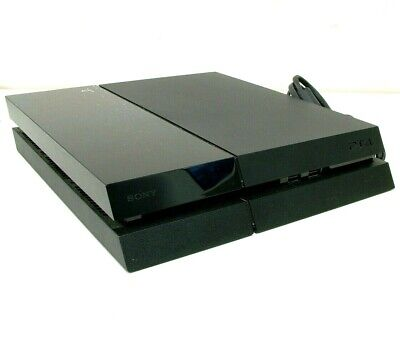 Sony PlayStation 4 PS4 500GB Black Console CUH-1002A - Console Only - Bids Fr $1