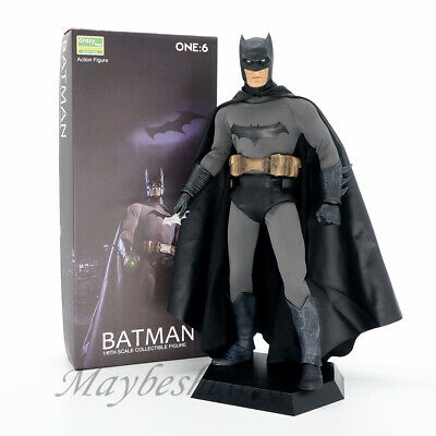 "Crazy Toys DC Justice Batman 12"" collection Action Figure Bruce Wayne Model Gift"