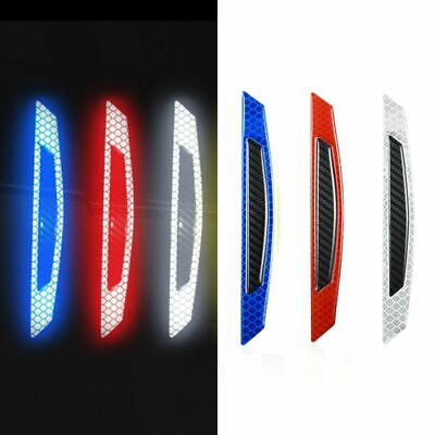 Car Reflective Strips 5D Carbon Fiber Design Tape Protection Awarness Adhesive