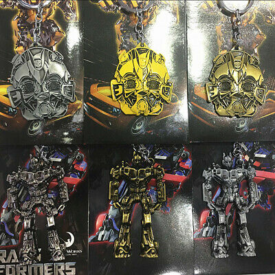 Transformers metal Bumblebee robot key chains ornament keyring key chain cool
