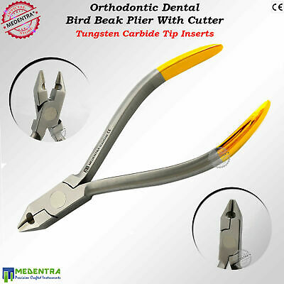 Bird Beak Archwire Forming Bending Ligature Cutter TC Inserts Orthodontic Pliers