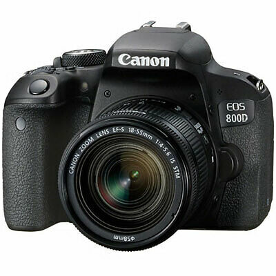 NEW Canon EOS 800D Camera with 18-55mm IS STM Lens UK NEXT DAY DELIVERY
