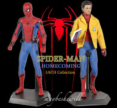 Crazy toys marvel Super Hero avengers Spiderman homecoming Collection PVC Statue