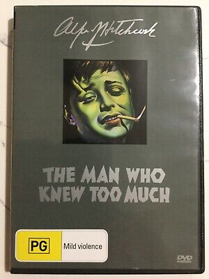 THE MAN WHO KNEW TOO MUCH - DVD Region 4 - Peter Lorre