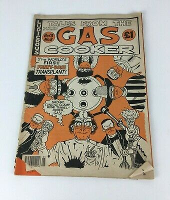 Vintage Tales From The Gas Cooker Volume 3 No 5 Comic Magazine Book