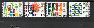 Sg1029-32 Gb Royal Institute Of Chemistry Centenary Very Fine Used Set