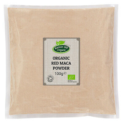 Organic Red Maca Powder 100g Certified Organic