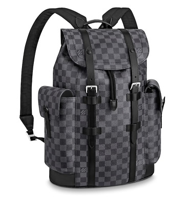 632934f2b1e0 Louis Vuitton Christopher PM Damier Graphite Backpack Authentic LV Brand New