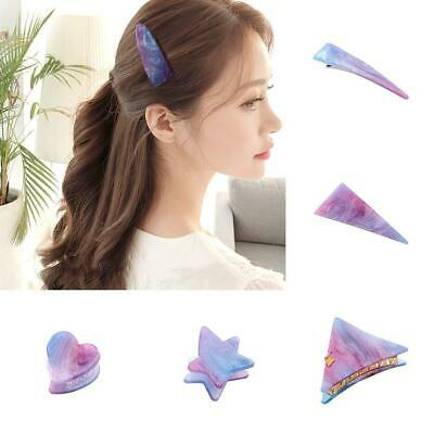 Fashion Resin Acetate Hair Clip Women Girl Headwear Barrettes Hairpins