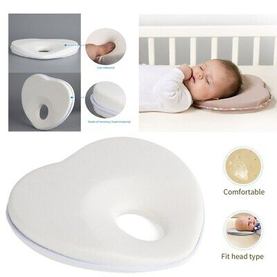 Anti Flat Head Pillow Shaping Soft Fabric Memory For Baby Breathable Cotton MX