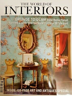 The World Of Interiors Magazine June 2019 = Art And Antiques Special