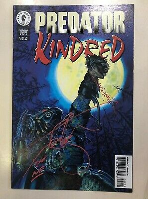 Predator - Comic #2 Of 4 Signed Ian Whyte