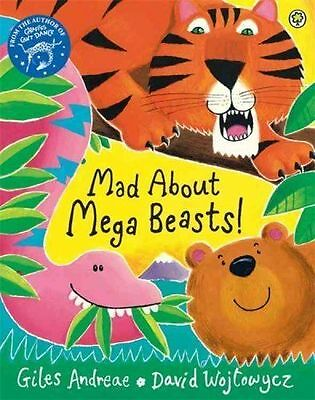 Mad About Mega Beasts! by Giles Andreae (Paperback, 2015)