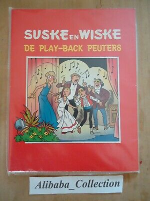 SUSKE EN WISKE STRIP play-back peuters **  BD BOB BOBETTE WILLY VANDERSTEEN