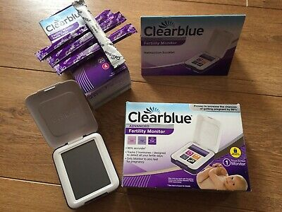 Clearblue ADVANCED Fertility Monitor Touch Screen Exp. 2024