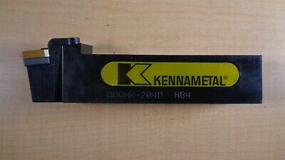 "Kennametal DDQNR-204D Indexable Tool Holder Boring Bar 1 1/4"" Square Shank 4G"