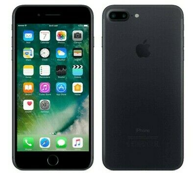 Apple iPhone 7 plus 256GB Black  Unlocked