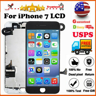 For iPhone7 A1660 LCD Display Touch Screen Replacement Digitizer Assembly+Button