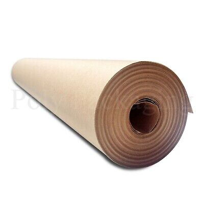 "25m x 500mm/20"" Wide Rolls BROWN KRAFT WRAPPING PAPER Posting Parcels Postal"