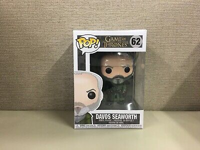 Funko Pop! Television: Game of Thrones - Ser Davos Seaworth #62 New In Box