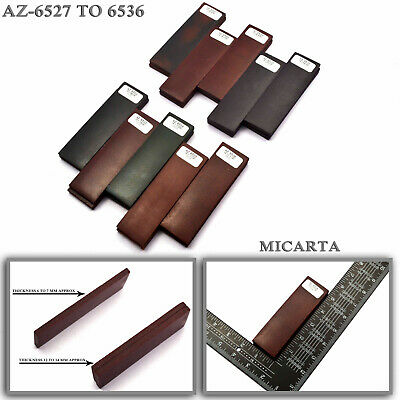 "Micarta Knife Scales Handle Blanks Figured Exotic Micarta 5"" [Pair]"
