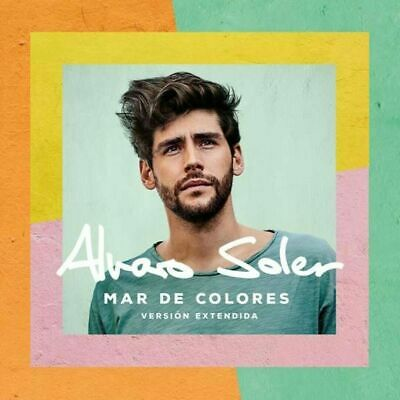 Alvaro Soler - Mar De Colores  (Version Extendia)  (2019)   CD NEU OVP