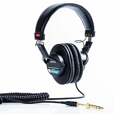 Sony MDR7506 Professional Large Diaphragm Headphone New Japan +Tracking