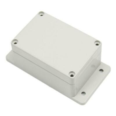 White Waterproof Plastic Electronic Project Box Enclosure Case 100 × 68× FE