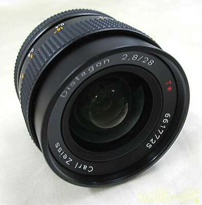Contax Kyocera Distagon 28mm F2.8 Cy Mount Lens