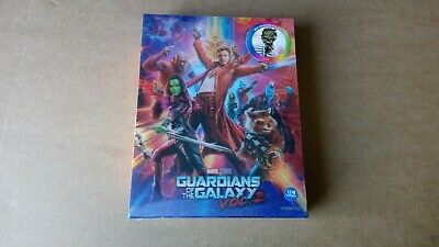 Guardians of the Galaxy 2 GOTG 3D 2D WeET Steelbook Lenticular Korea BD Blu-ray
