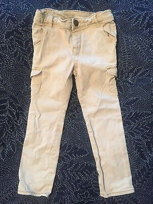 Gap children kids toddler jeans trousers biege 3 years