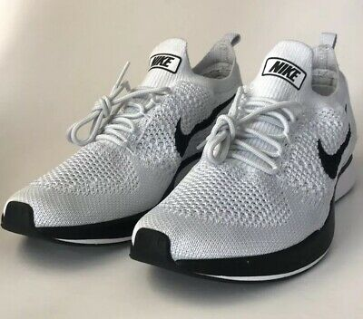 63db4333e617 Nike Air Zoom Mariah Flyknit Racer 918264-002 Pure Platinum White Mens Size  10