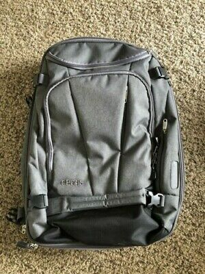 eBags TLS Mother Lode Weekender Convertible Carry-On Travel Backpack Grey