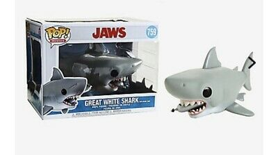 """New In Hand  6"""" INCH JAWS WITH DIVING TANK - Funko Pop Movies Jaws"""