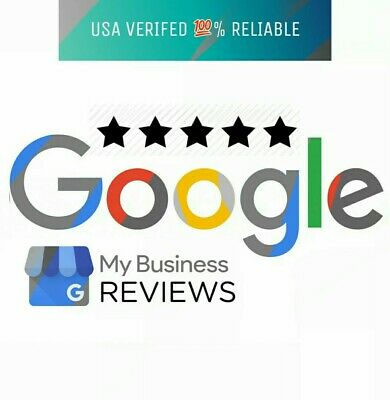 (5) FIVE 5 star Google US based review for Business - 100% REAL PEOPLE