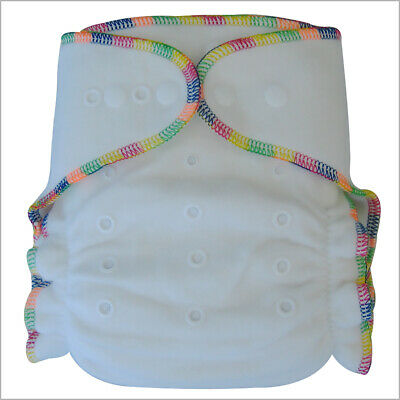 Baby Bamboo Night Fitted Cloth Diaper, One Size