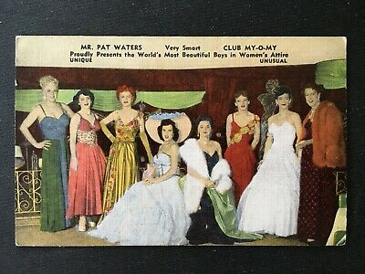 Club My-O-My, New Orleans, Vintage Linen Postcard Unposted