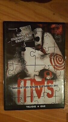 Saw: The Complete Movie Collection 1 2 3 4 5 6 7 (DVD, 2014, 4-Disc Set)