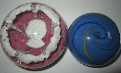St Clair Paper Weight Martha Washington Glass 1972 Pottery & Glass North American