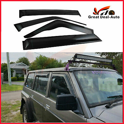 Weather Shield Weathershield for Nissan Patrol GQ 88-97 Auto Mirror Window Visor