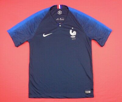 b315b7fc328  89 Nike France 2018 Mens M Football Soccer Home Stadium Jersey 893872-451
