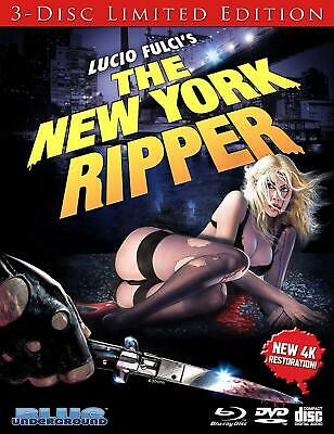 New York Ripper, The 3-Disc Limited Edition ((Blu-ray + DVD + CD) PREORDER* 6/25