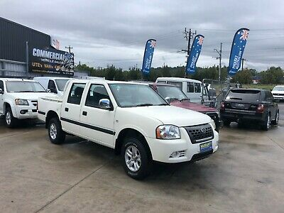 GREAT WALL SA220 2009 DUAL CAB UTE EFi PETROL MANUAL 4X2!! SELLING AS IS!!!