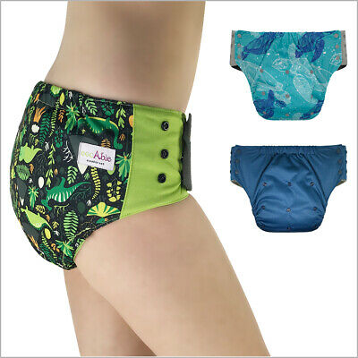Pull On Cloth Diaper with Tabs – Special Needs Briefs for Big Kids and Adults