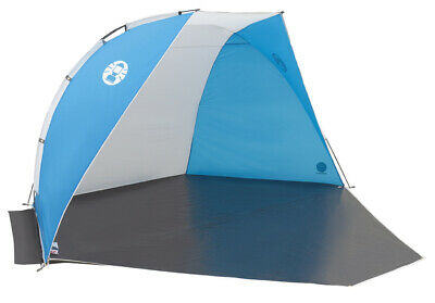 Coleman Sundome Beach Shelter with Closure - Blue/White