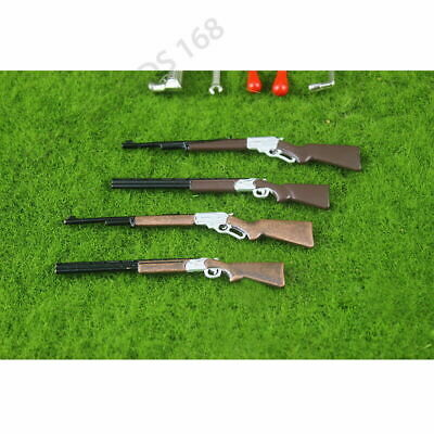 Mini Rifle Shotgun Long Gun Model 1:12 Dollhouse Miniature Accessory Decor Toy