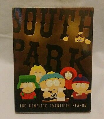 South Park The Complete Twentieth Season(DVD, 2017, 2-Disc Set) Brand New