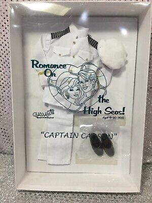 2011 Gaw Convention Captain Ken Carson Barbie Doll Outfit Only 274 Nrfb Mint